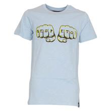 4303142 DWG Harro 142 T-shirt LYS BLÅ