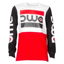 4410015 DWG Conor 015 T-shirt L/Æ RØD