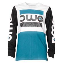 4410015 DWG Conor 015 T-shirt L/Æ TURKIS