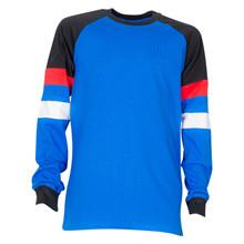 4612154 DWG Almon 154 T-shirt L/Æ BLÅ
