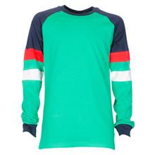 4612154 DWG Almon 154 T-shirt L/Æ GRØN