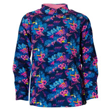 4302110 DWG Corey Hawaii Skjorte MARINE