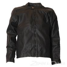 4208241 DWG Tonny 241 PU-jakke  SORT