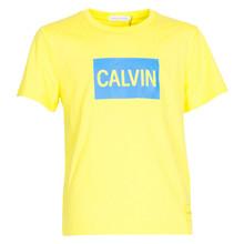 IB0IB00138 Calvin Klein Logo Tee GUL