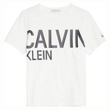IB0IB00348 Calvin Klein T-shirt  HVID