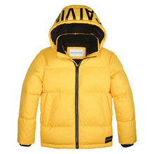 IB0IB00249 Puffer Vinter jakke GUL
