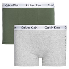 B70B700209 Calvin Klein 2pak Trunk GRØN