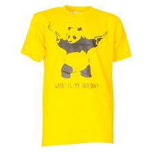 MSeventy2 Panda Gun T-shirt GUL