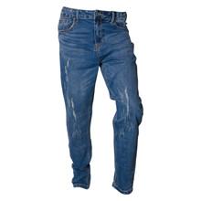 1834-101 Grunt Mid Stone Jeans BLÅ