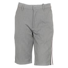 1924-302 Grunt Dude Shorts Striped GRÅ