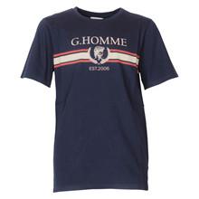 1844-303 Gruint Bishad T-shirt MARINE
