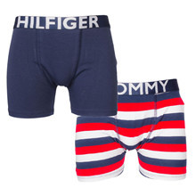 UB0UB00150 Tommy Hilfiger 2p Tights STRIBET