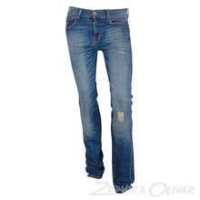 NK22167 Levis 510 Skinny Jeans BLÅ