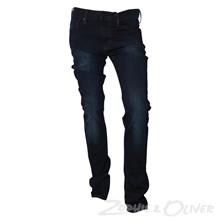 NK22637 Levis 520 Xtr. Skinny Jeans MØRKEBLÅ