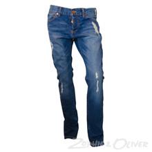 NK22257 Levis 501 Skinny Jeans  BLÅ