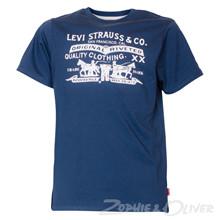 N91000H Levis T-shirt  MARINE
