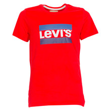 NM10377 Levis Heroel T-shirt  RØD