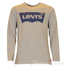 N91005H Levis Logo T-shirt GRÅ