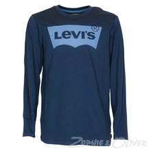 N91005H Levis Logo T-shirt MARINE