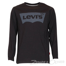 N91005H Levis Logo T-shirt SORT