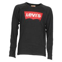 NM10197 Levis Crewbat T-shirt L/Æ SORT