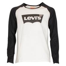NM10627 Levis T-shirt L/Æ Off white