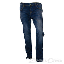 1722-113 Native Baron Tapered Pant  BLÅ