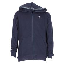 0001107 Marco Polo Sweatshirt m. Zi MARINE