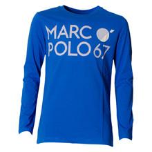 1826351 Marco Polo T-shirt L/Æ COBOLT