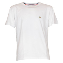 TJ1442 Lacoste T-shirt K/Æ HVID