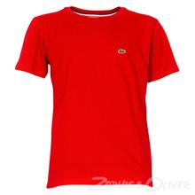 TJ1442 Lacoste T-shirt K/Æ RØD