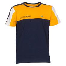 TJ1330 Lacoste T-shirt Block K/Æ GUL