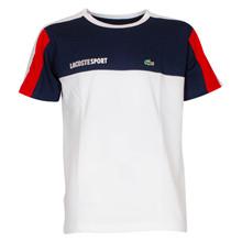 TJ1330 Lacoste T-shirt Block K/Æ HVID