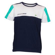 TJ1330 Lacoste T-shirt Block K/Æ MARINE