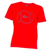 TJ1327 Lacoste T-shirt RØD