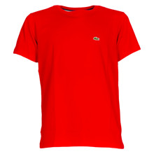 TJ1442 Lacoste T-shirt RØD