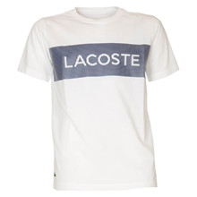 TJ3286 Lacoste T-shirt  HVID