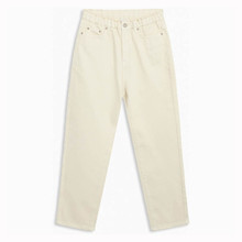 2033-101 Grunt Dicte Paperbag Jeans Off white