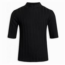 2033-126 Grunt Dot Rib T-shirt SORT
