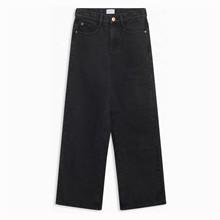2033-518 Grunt Wide Leg Bukser SORT