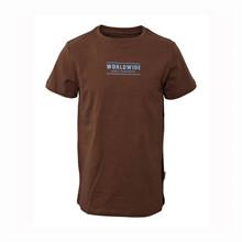 2201001 Hound T-shirt K/Æ BRUN