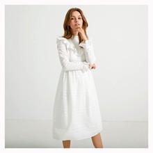 WM1073 White &  More Elina Dress HVID