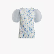 2023-151 Grunt Rudi Flower T-shirt  Off white