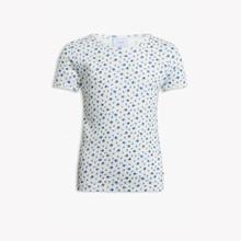 2023-155 Grunt Mona Flower T-shirt Off white