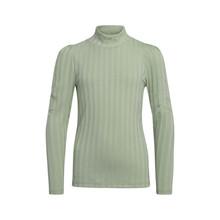 2113-400 Tanjo Rib L/Æ T-shirt Mint grøn