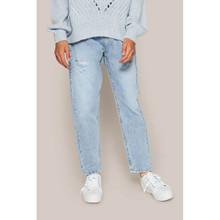 2113-502 Grunt Mom T. Indigo Jeans LYS BLÅ