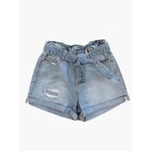 2113-516 Grunt Paper Bag True Indigo Shorts LYS BLÅ
