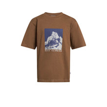 2114-454 Grunt Rock Box Fit T-shirt BRUN