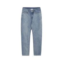 2133-110 Grunt Mom Iris Jeans Mellemblå