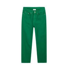 2133-112 Grunt Wide Leg Green Jeans GRØN
